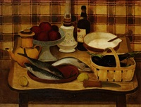 nature morte aux aubergines by robert humblot