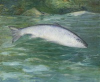 silverside landlock salmon by horace c. dunham