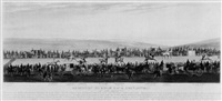 brighton hurdle race december 20th 1833: the start by george earp