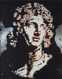 alexander the great (from picture of chocolate) by vik muniz