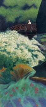 trelissick gardens, noon by john langton