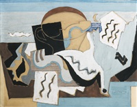 la colombe poignardée by louis marcoussis