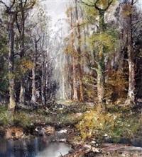 auwald by friedrich wilhelm fischer-derenburg