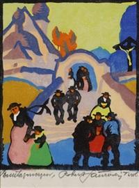 sonntagmorgen (+ prozession; 2 works) by robert a. saurwein