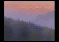 mist in the sunrise by tadashi kawamoto