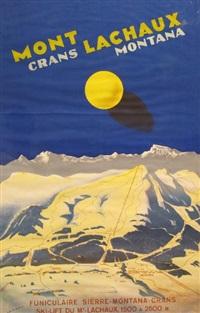 mont lachaux crans montana / funiculaire sierre-montana-crans / ski-lift du mt-lauchaux 1500 à 2500 m by martin peikert