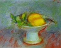 stilleven met citroenen by gerhard arnold christiaan smith