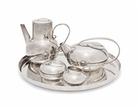 gallia tea and coffee set by lino sabattini