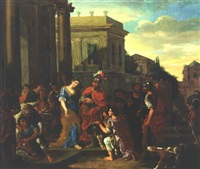the continence of scipio by isaac fisches