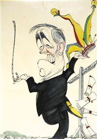 richard ingrams by gerald scarfe