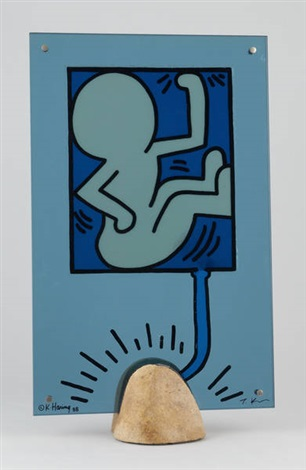 bébé by keith haring