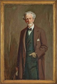 portrait of robert bontine cunninghame graham by cowan dobson
