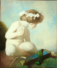idle cupid by william john whittemore