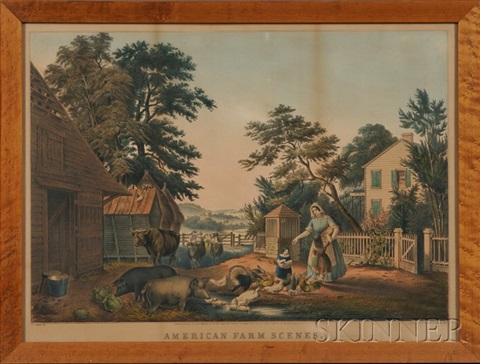 american farm scenes no 2summer by nathaniel currier
