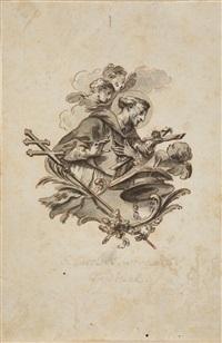 s. carolus barromaeus cardinal by gottfried bernhard goetz