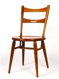 six dining chairs by fred ward