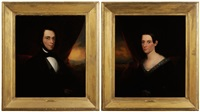 george l. heins (+ margaret heins; pair) by robert street