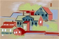 untitled (houses) by willard grayson smythe