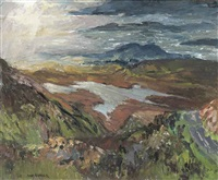 firth of clyde from fairlie moor road by mary nicol neill armour