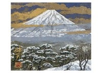 mt.fuji by sumio goto