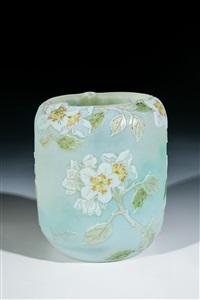 vase mit apfelblüten by legras (co.)