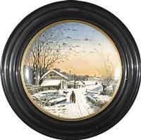 l'inverno in piemonte by bartolomeo ardy