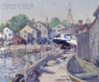 dockside view by clifford warren ashley