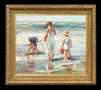a day at the beach by claude-marie buford
