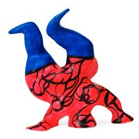 mini nana acrobate by niki de saint phalle