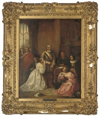 cromwell's family, interceding for the life of charles i by william fisk