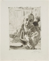 anatole france by anders zorn