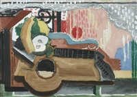 nature morte devant la fenêtre by louis marcoussis