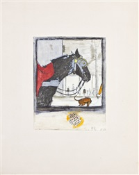 horse and hound by hugo simberg