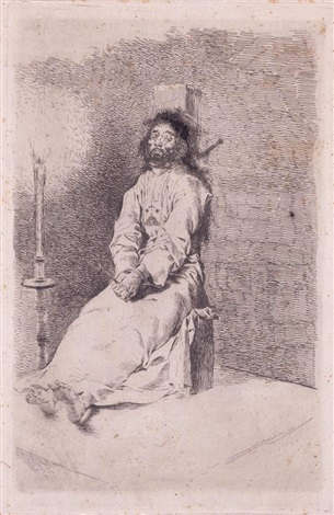 el agarrotado by francisco de goya