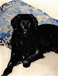 portrait of a dog by ceta buffhan