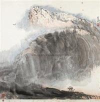 山水 by liu lun
