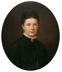 emma helene willich by otto rethel