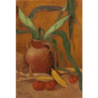 nature morte avec maïs et tomates by paul sérusier
