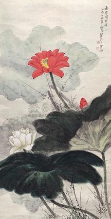 红荷 by liang ji