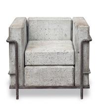 betonsessel grand confort, sans confort, dommage à corbu by stefan zwicky