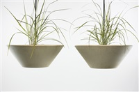 hanging planters (pair) by architectural pottery
