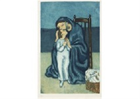 Maternite After Pablo Picasso by Jacques Villon on artnet