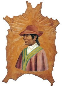 retrato de mejicano by jose jara