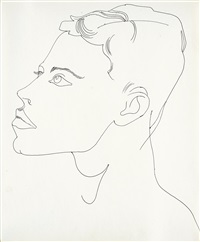 unidentified male by andy warhol