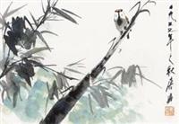 竹雀 by tang yun