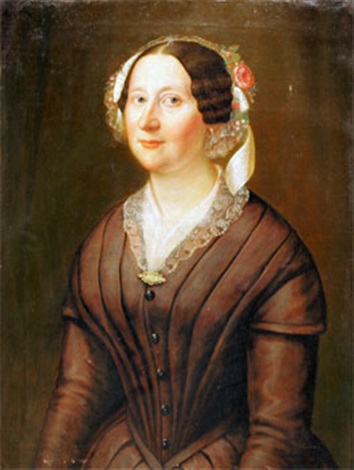 porträtt av elise gother by carl peter lehman