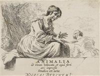 animalia ad vivum delineata by nicolaes berchem