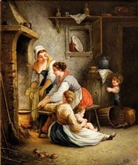 la cuisine dans la cheminée by jules leonard