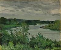 paysage de gironde by willem van hasselt