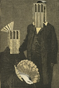 untitled (two figures) by joseph cornell